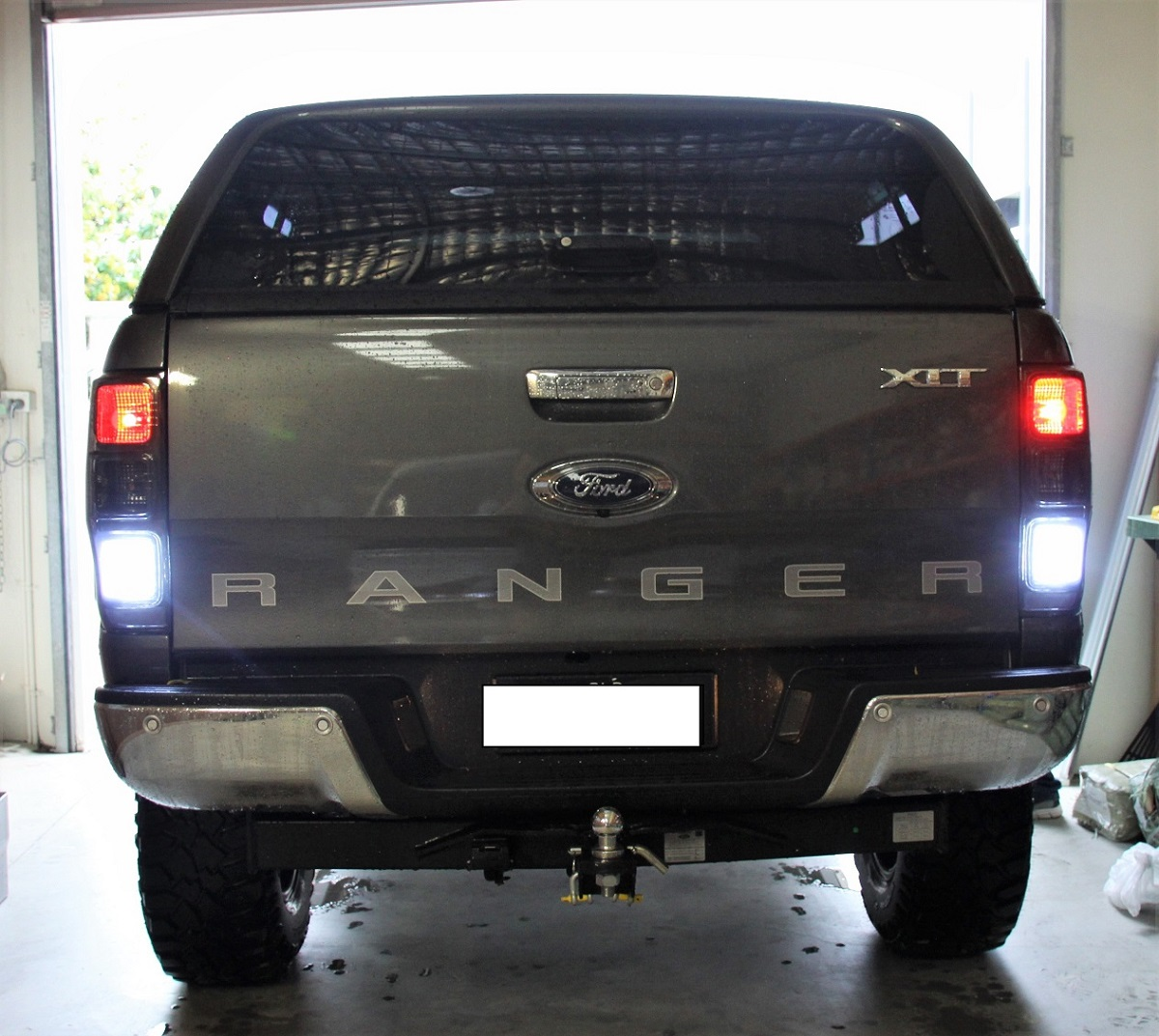 Hipower Hid White Led Reverse Tail Light Bulbs Globes For